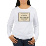 Chicken Ranch Brothel Women's Long Sleeve T-Shirt