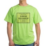 Chicken Ranch Brothel Green T-Shirt
