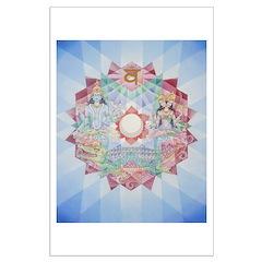 2nd Chakra mandala Posters