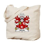 Wroth Family Crest Tote Bag