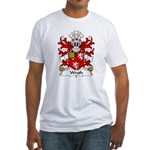 Wroth Family Crest Fitted T-Shirt