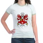 Wroth Family Crest Jr. Ringer T-Shirt