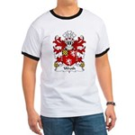 Wroth Family Crest Ringer T