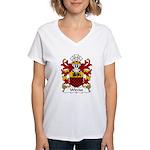 Wirriot Family Crest Women's V-Neck T-Shirt