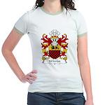 Wirriot Family Crest Jr. Ringer T-Shirt