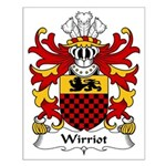 Wirriot Family Crest Small Poster