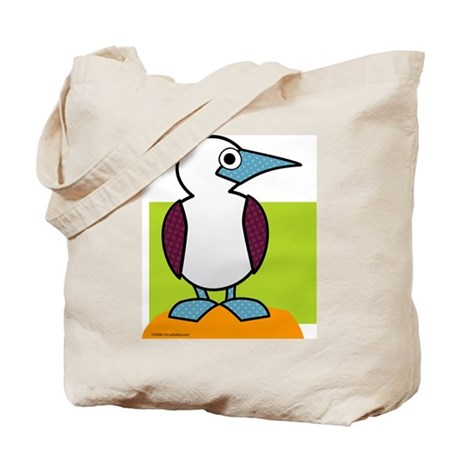 Blue Footed Booby Tote Bag