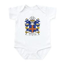 Whitney Family Crest Infant Bodysuit