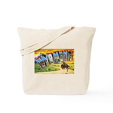 Wyoming Greetings Tote Bag