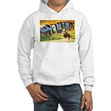 Wyoming Greetings Hoodie