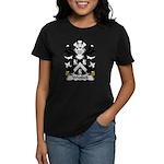 Whitlock  Family Crest Women's Dark T-Shirt