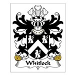 Whitlock  Family Crest Small Poster