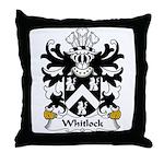 Whitlock  Family Crest Throw Pillow