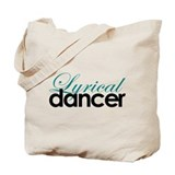 Lyrical Dancer Tote Bag