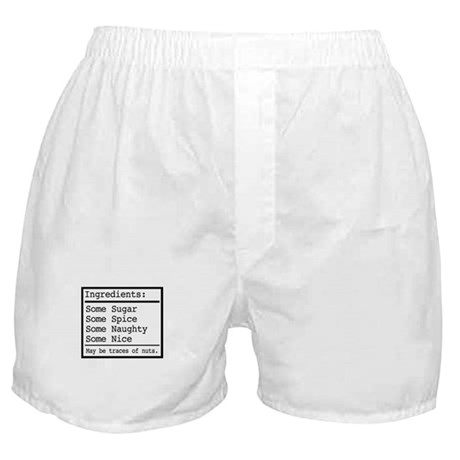 Naughty and Nice Boxer Shorts