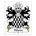 Warde Family Crest Small Poster