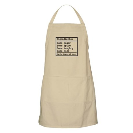 Naughty and Nice BBQ Apron