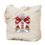 Walby Family Crest Tote Bag