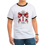 Walby Family Crest Ringer T