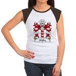 Walby Family Crest Women's Cap Sleeve T-Shirt