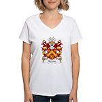 Tywyn Family Crest Women's V-Neck T-Shirt