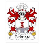 Turbridge Family Crest Small Poster