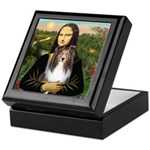 Mona Lisa's Sheltie (S) Keepsake Box