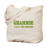 click to view Military Grammi Tote Bag