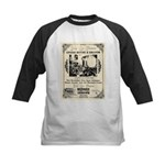 Birdcage Theater Kids Baseball Jersey