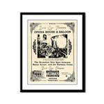 Birdcage Theater Framed Panel Print