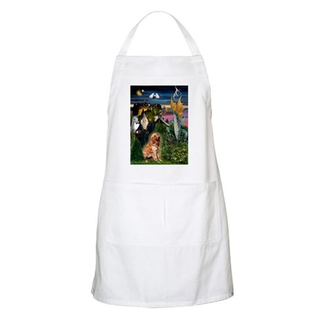 The Magical Golden BBQ Apron