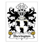 Skevington Family Crest Small Poster