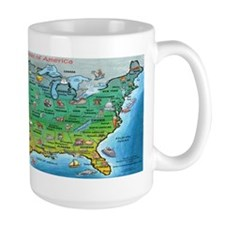 Cute City maps Mug