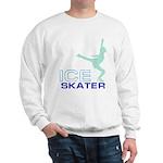 Ice Skating Collage Sweatshirt