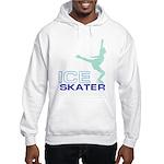 Ice Skating Collage Hooded Sweatshirt