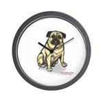 PUG MUG Wall Clock