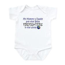 Best Firefighters In The World Infant Bodysuit
