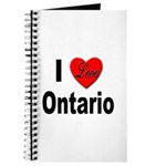 I Love Ontario Journal