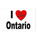 I Love Ontario Postcards (Package of 8)