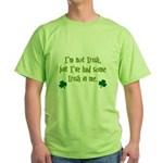 Irish In Me Green T-Shirt