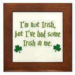 Irish In Me Framed Tile