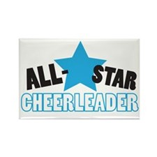All-Star Cheerleader Rectangle Magnet