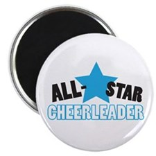 "All-Star Cheerleader 2.25"" Magnet (10 pack)"