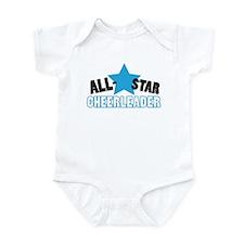 All-Star Cheerleader Infant Bodysuit