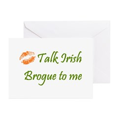 Irish Brogue Greeting Cards (Pk of 10)