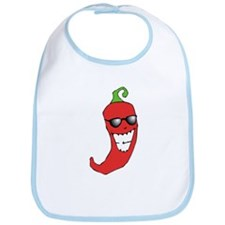 Cool Chili Pepper Bib