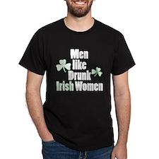 Drunk Irish Women T-Shirt