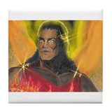 Angel Warrior Liftheon Tile Coaster