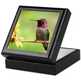 Hummingbird Custom Keepsake Box
