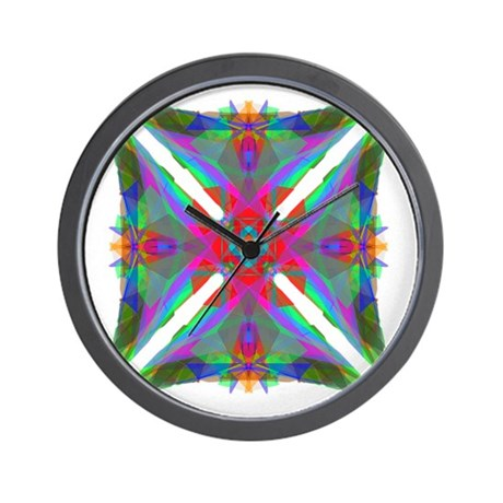Kaleidoscope 000 Wall Clock